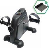 Dreaver® Stoelfiets - LCD-scherm - Inclusief GRATIS antislipmat - Bureaufiets - Stoelfiets - Bewegingstrainer - Deskbike - Mini hometrainer - Pedaaltrainer