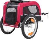 Trixie Hondenfietskar Zwart / Rood - 60X53X60 CM