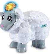 VTech Zoef Zoef Dieren Suzy Het Slimme Schaapje - Speelfiguur - Interactief Babyspeelgoed - Multikleuren