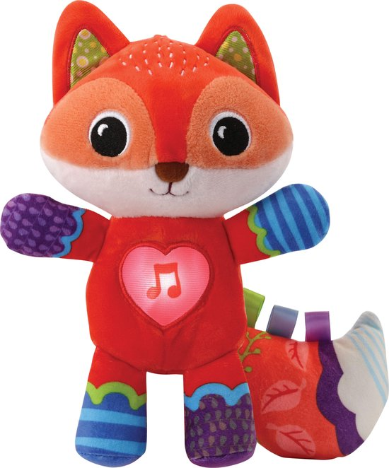 VTech - Dierenvriendjes Bedtijd - Vosje - Educatief Babyspeelgoed - 0 tot 3 jaar