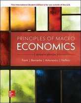 Boek cover ISE Principles of Macroeconomics van Robert Frank
