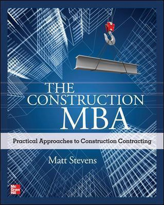 Boek cover The Construction MBA van Matt Stevens (Paperback)