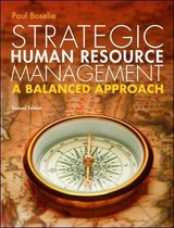 Boek cover Strategic Human Resource Management 2e van Paul Boselie (Paperback)