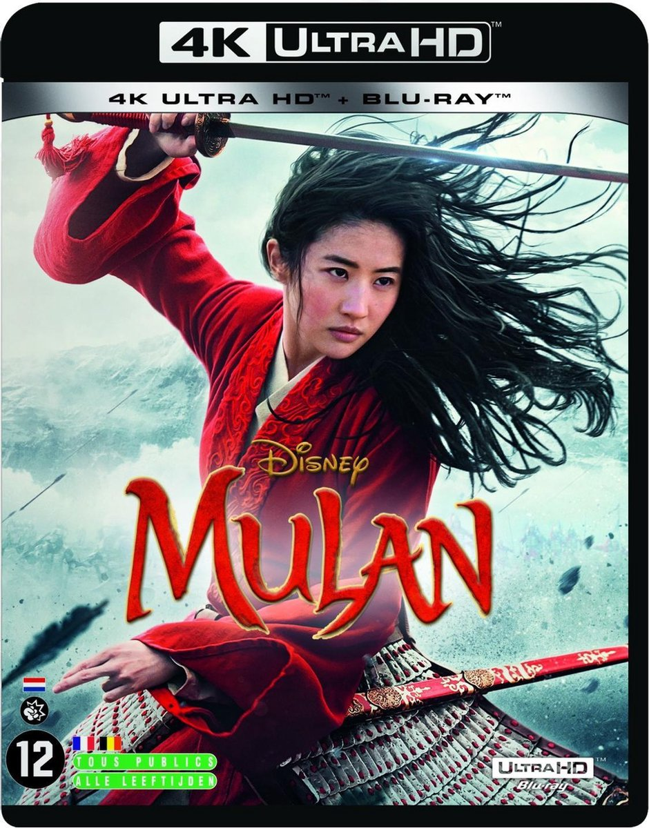 Mulan (4K Ultra HD Blu-ray)-