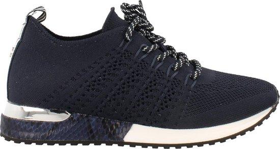 La Strada Sneaker Laag Dames Sneakersock Easy Fit – Blauw   39
