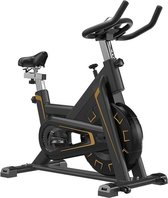 Hometrainer - Spinbike - Fietstrainer - Zwart - Gold Edition