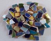 Keramische Mozaiek Steentjes Koude Mix 300 Gram