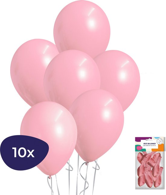 Bananago - Roze Ballonnen - 10 stuks - Geboorte Versiering Meisje