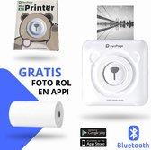 Originele PeriPage Pocket Printer | Mini Printer | Inclusief Papier - Wit