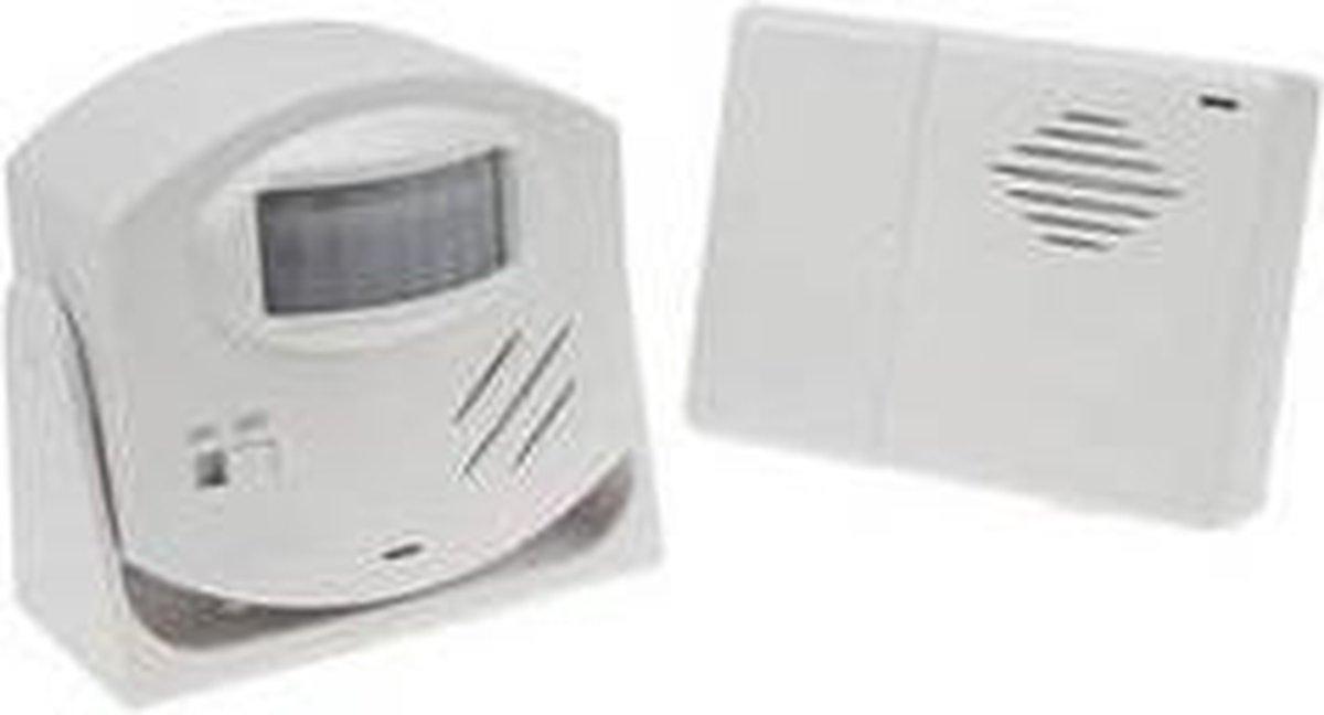 Velleman HAM25 alarm/deurbel draadloos met PIR bewegingssensor - Velleman