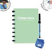 Correctbook Original A5 Misty Mint-Gelinieerd - Uitwisbaar / Whiteboard Notitieboek