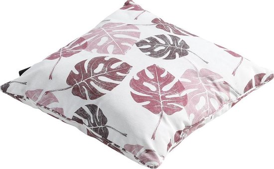 Madison Sierkussen met paspel 50x50 Donna pink - outdoor