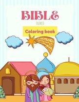 Bible Themed Coloring Book