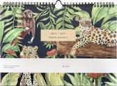 &INK Familieplanner 2021/2022 - 16 Maanden - Jungle