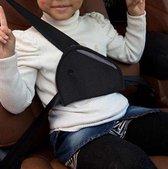Auto Gordelhoes - Gordelbeschermer Kind - Gordelkussen Kind - Kind Veiligheid -Grijs