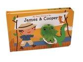 James & Cooper Finger Puppet Book