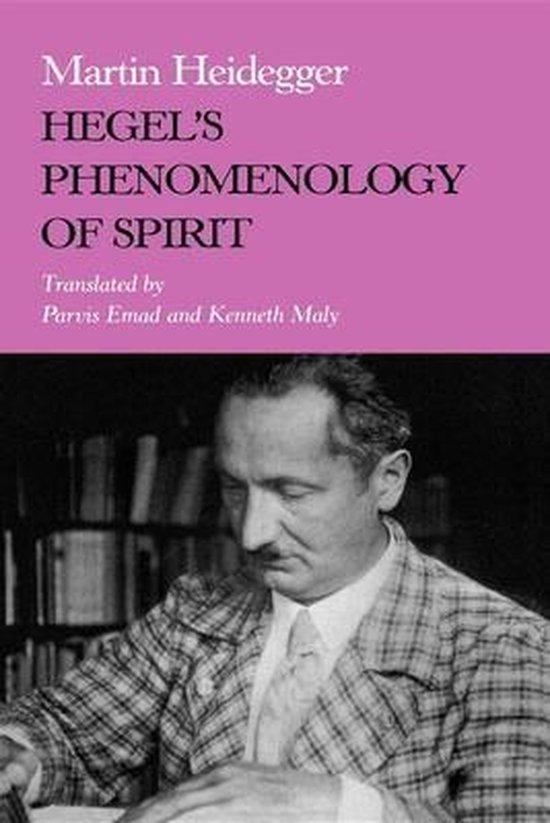 Boek cover Hegels Phenomenology of Spirit van Martin Heidegger (Paperback)
