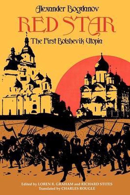 Boek cover Red Star: The First Bolshevik Utopia van Alexander Bogdanov (Paperback)