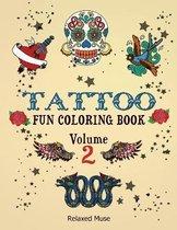 Tattoo Fun Coloring Book Volume 2