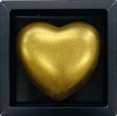 Milachocolata Chocolade Hart goud massief Melk chocolade cadeau  Brievenbus cadeau  - Brievenbuspakket - Chocolade  -Snoep - Vrouwen cadeau - Geschenkset vrouwen - Cadeaupakket - Cadeau