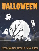 Halloween Coloring Book For Kids.