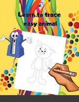 Learn to trace easy animal