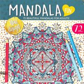 Mandala - Kleuren voor volwassenen - Mandala - Kleuren - Ontspannen - Adult Colouring - Volwassen - Grijs