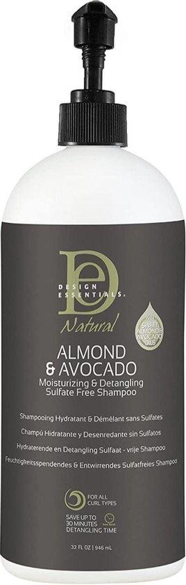 Design Essentials Almond Avocado Shampoo - Sulfaat vrij - 32oz