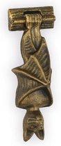Deurklopper - Vleermuis - Gietijzer, set van 2