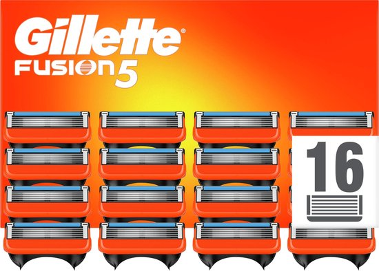 Gillette Fusion5 Scheermesjes - 16 Navulmesjes - Brievenbusverpakking