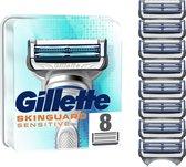 Gillette SkinGuard Sensitive Scheermesjes - 8 Navulmesjes