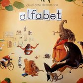 Kaartenmapje met enveloppen, vierkant: Alfabet, Charlotte Dematons