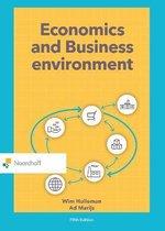 Boek cover Economics and Business Environment van Wim Hulleman