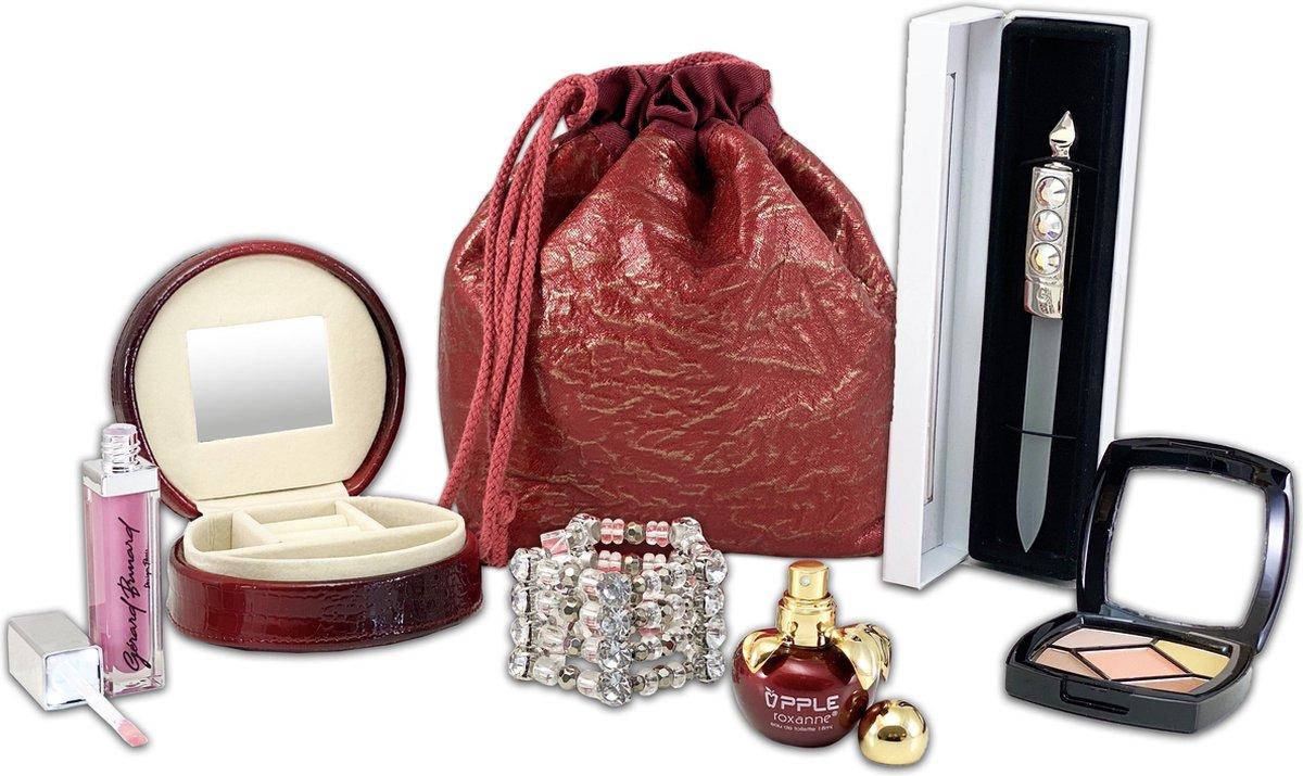 Dames cadeaupakket in cadeau verpakking, kerst pakket, moederdag, sinterklaas, verjaardags cadeau, m
