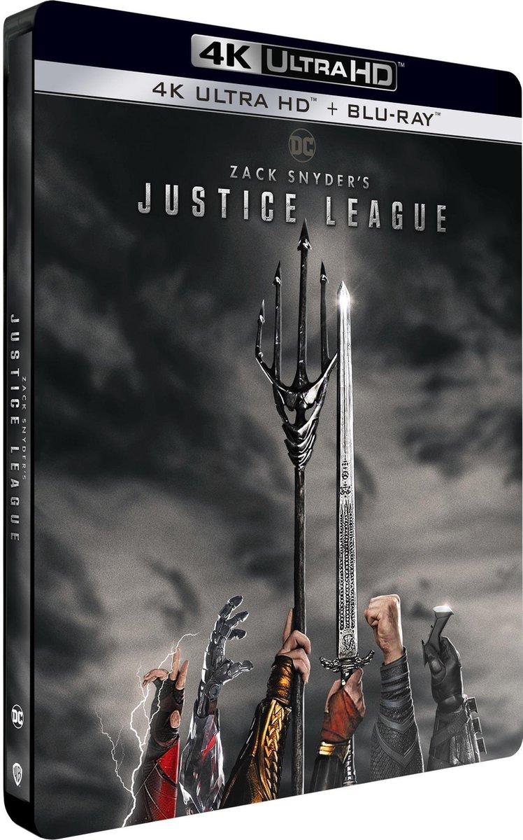 Zack Snyder's Justice League (Steelbook) (4K Ultra HD Blu-ray)-