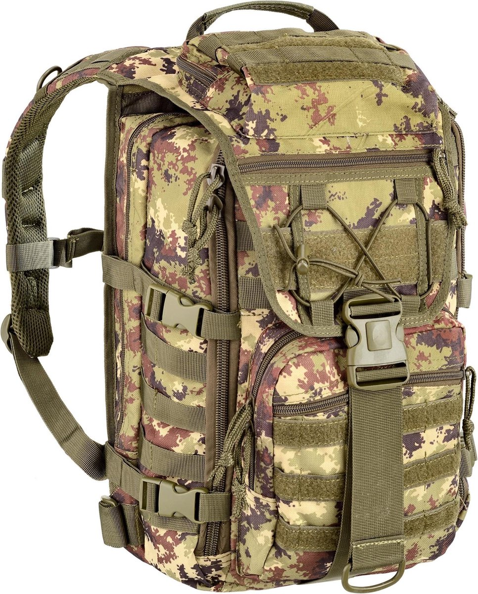 Defcon 5 Easy Pack 45l leger rugzak  - Cammo Vegetato Italiano - Defcon 5