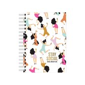 Studio stationery a6 notebook social media planner - Multi