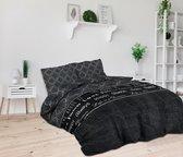 Sleeptime House of Love - Dekbedovertrekset - Tweepersoons - 200x200/220 + 2 kussenslopen 60x70 - Wit