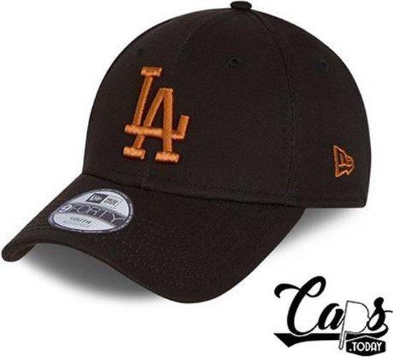 New Era LA Dodgers Essential Youth Black 9FORTY Cap