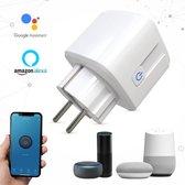 Bosoo - Slimme Stekker - Smarthome Wifi Plug - Energiemeter - 2.4 GHz