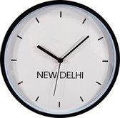 HOOMstyle Steden wandklok New Delhi - 30cm