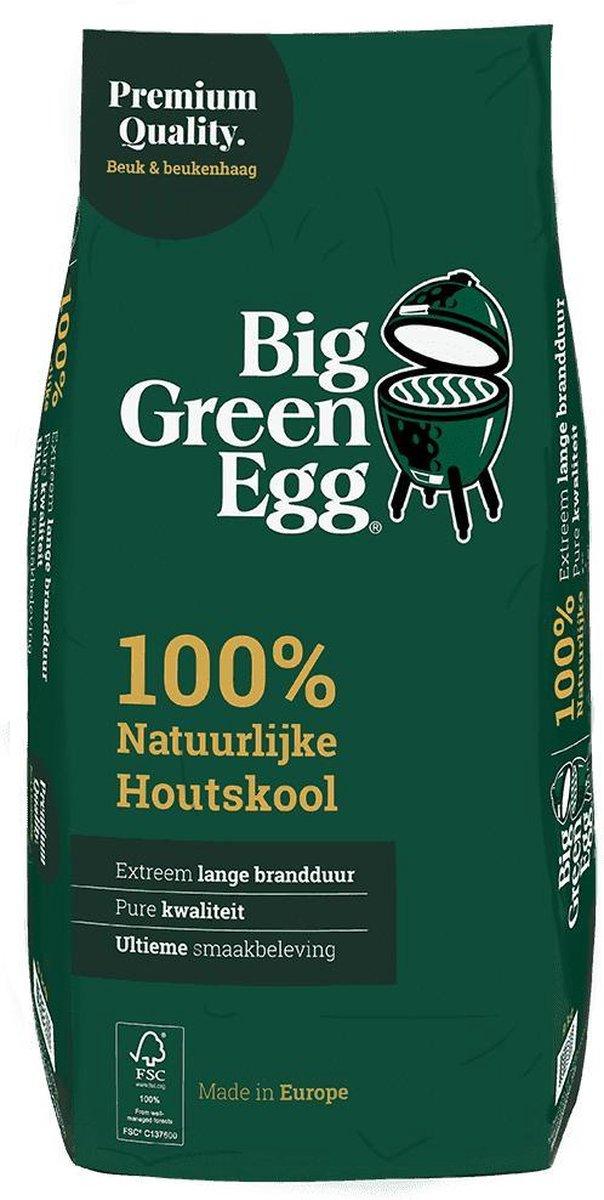 Houtskool Organic Lump, 4.5kg - Big Green Egg