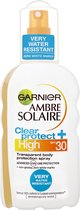 Garnier Ambre Solaire Clear Protect Refresh Zonnebrand - SPF 30 - 200ml
