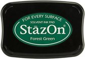 Stazon sneldrogend stempelkussen Forest Green