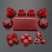 PS4 controller PRO V2 button replacement set rood