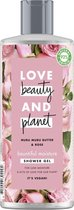 Love Beauty and Planet Douchegel Shea Butter & Sandelwood Oil - 500 ml