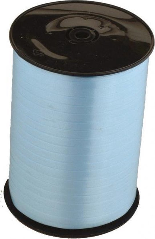 Amscan Ballonlint Metallic 5 Mm Polyester 23 Meter Blauw