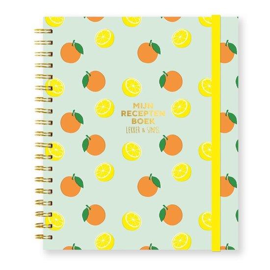 Boek cover Mijn receptenboek van Sofie Chanou (Paperback)