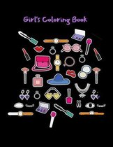 Girl's Coloring Book