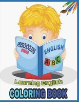 Learning English Coloring Book For Preschoolers